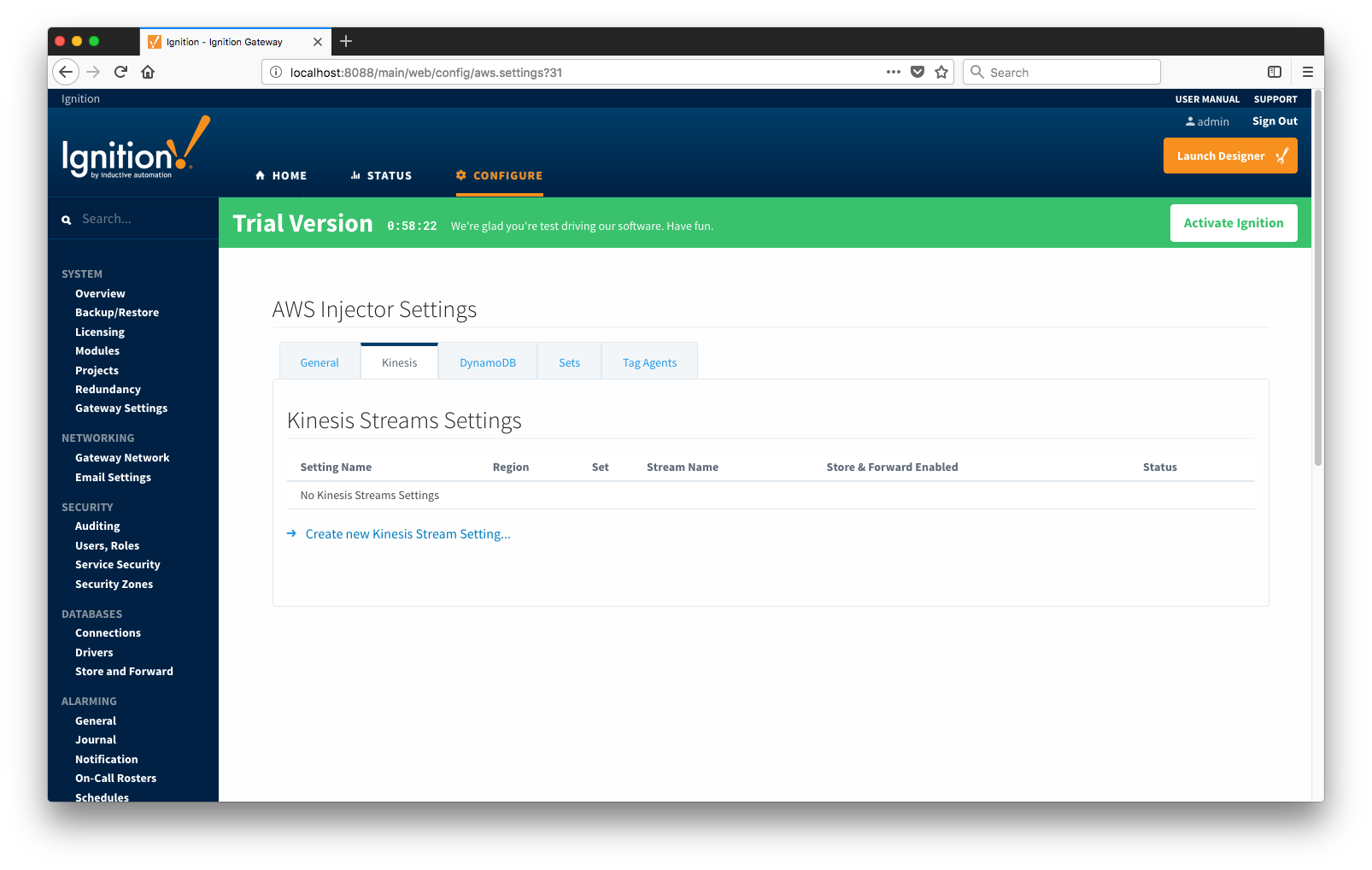 Getting Started: AWS Injector Quick Start - Cirrus Link
