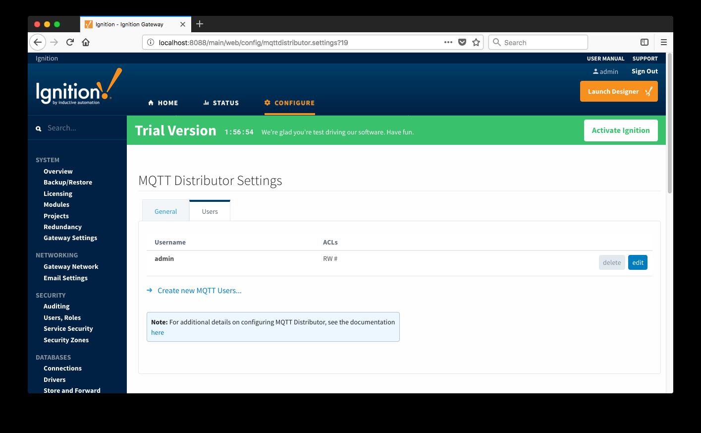 MD: Configuration - Cirrus Link Documentation - Confluence